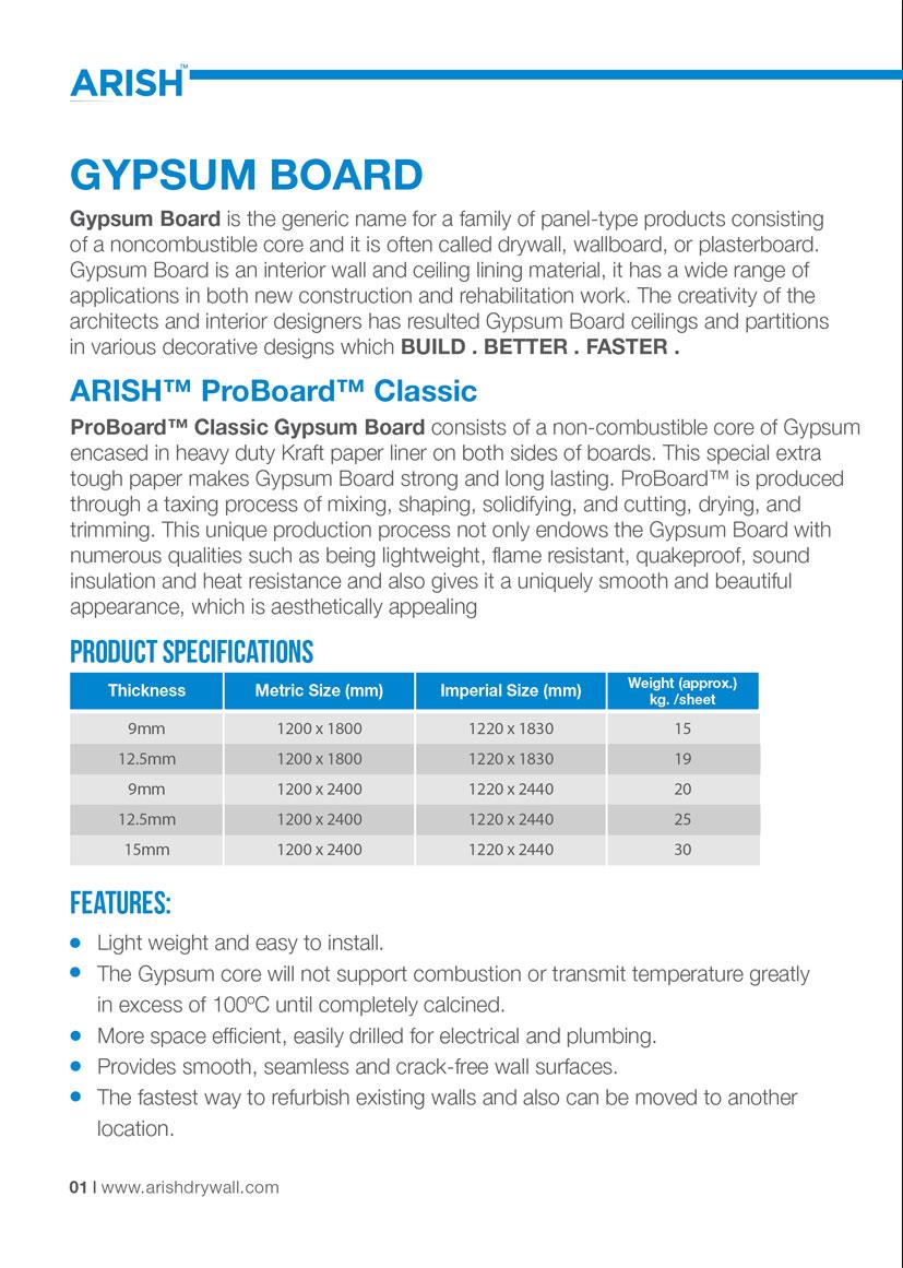 ProBoard   Arish Build, Better, Faster